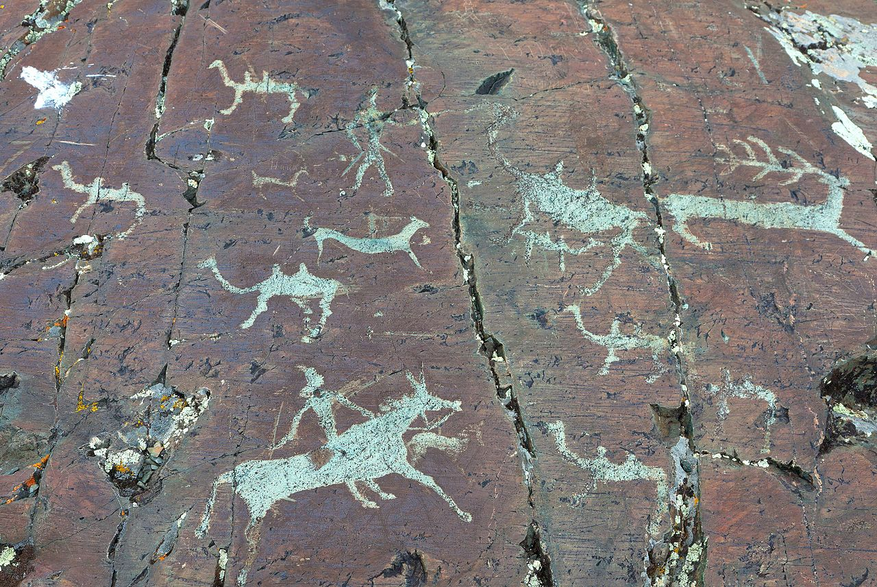 Petroglyphs of the Elangash valley