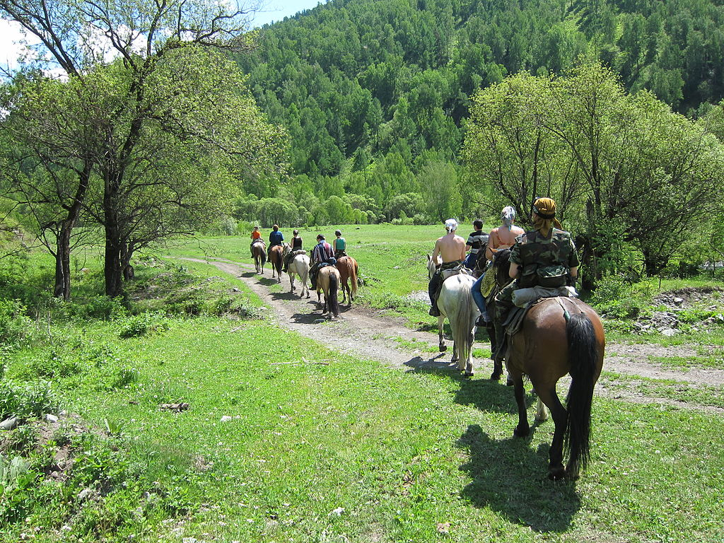 Horse riding in Chemalsky District