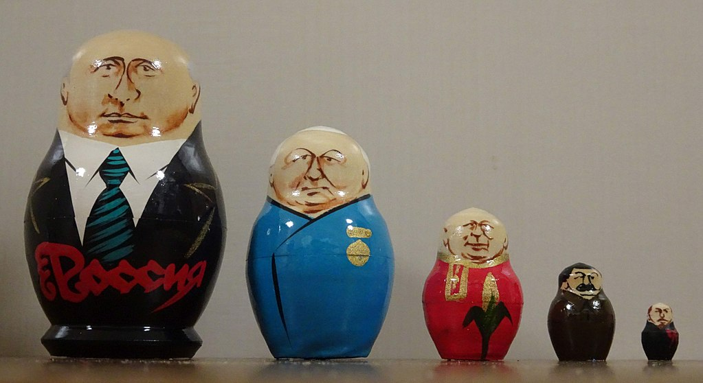 Matryoshka - Russian leaders