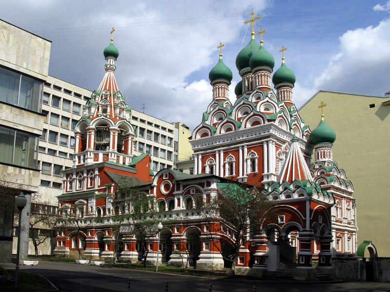 Holy Trinity Church in Moscow