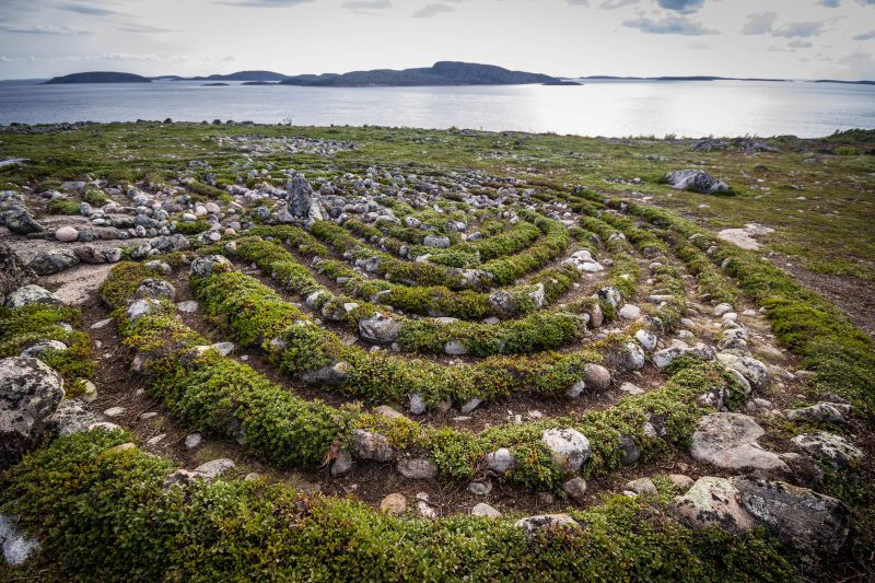 Neolithic labyrinths of Solovki