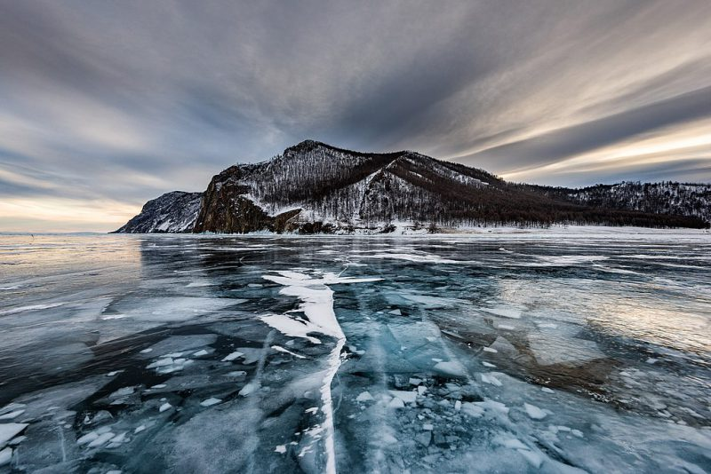 Lake Baikal, near Olkhon island