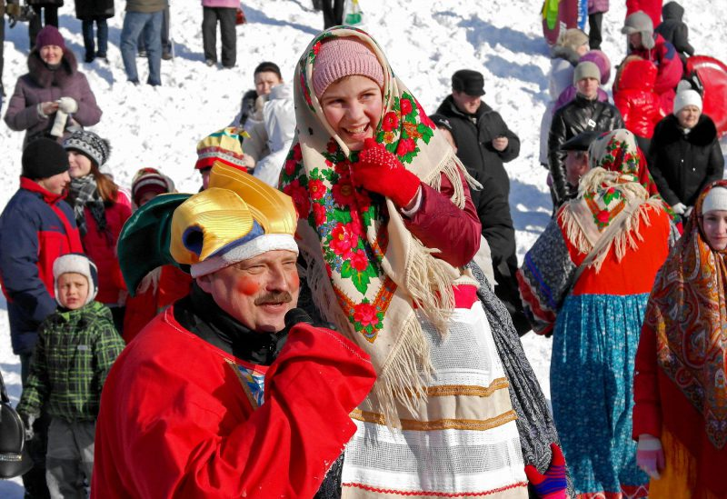 Maslenitsa – Slavic holiday of saying goodbye to winter