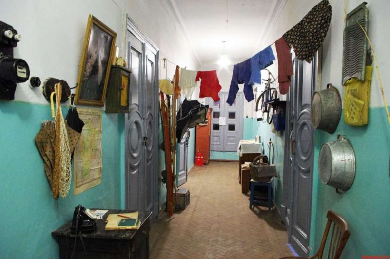 Communal apartments as part of Russian history
