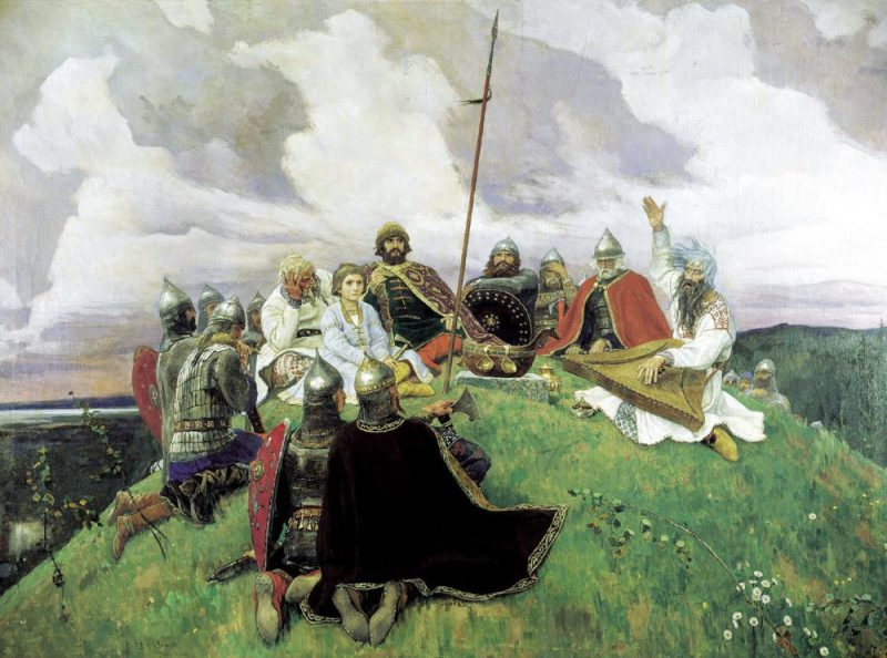Bylinas – Old Russian epic poems