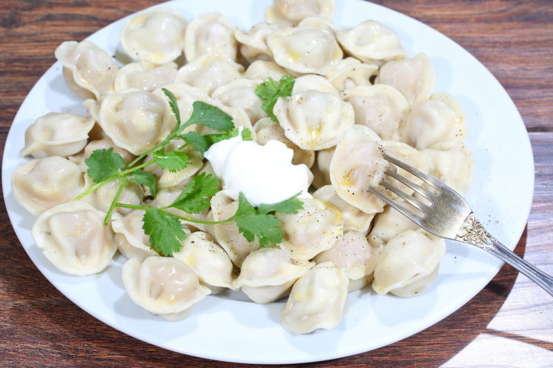 Russian pelmeni and how to make them